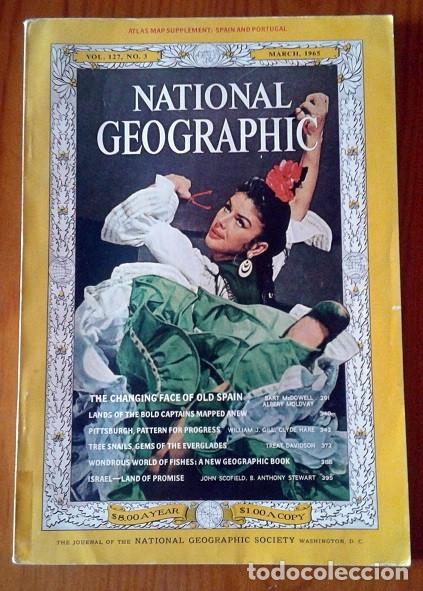 NATIONAL GEOGRAPHIC MAGAZINES YEAR 1963 AL 1968 (Coleccionismo - Revistas y Periódicos Modernos (a partir de 1.940) - Revista National Geographic)