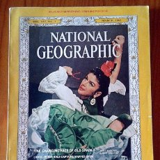 Collectionnisme de National Geographic: NATIONAL GEOGRAPHIC MAGAZINES YEAR 1963 AL 1968. Lote 131434422