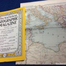Coleccionismo de National Geographic: THE NATIONAL GEOGRAPHIC MAGAZINE - ED. ORIGINAL - DICIEMBRE 1954, CON MAPA EN ANEXO. Lote 133945590