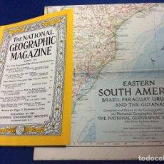 Coleccionismo de National Geographic: THE NATIONAL GEOGRAPHIC MAGAZINE - ED. ORIGINAL - MARZO 1955, CON MAPA. Lote 133947826