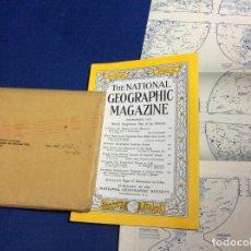 Coleccionismo de National Geographic: EL NATIONAL GEOGRAPHIC MAGAZINE - ED. ORIGINAL - DICIEMBRE 1957, CON MAPA DESPLEGABLE. Lote 133951274