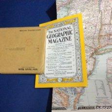 Coleccionismo de National Geographic: THE NATIONAL GEOGRAPHIC MAGAZINE - ED. ORIGINAL - DICIEMBRE 1953, CON MAPA DESPLEGABLE. Lote 133969638