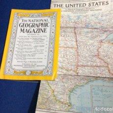 Coleccionismo de National Geographic: THE NATIONAL GEOGRAPHIC MAGAZINE - ED. ORIGINAL - SEPTIEMBRE 1956, CON MAPA DESPLEGABLE. Lote 133970246