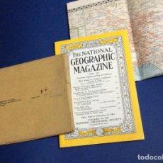 Coleccionismo de National Geographic: THE NATIONAL GEOGRAPHIC MAGAZINE - ED. ORIGINAL - JUNIO 1954, CON MAPA DESPLEGABLE. Lote 133970394