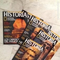 Collectionnisme de National Geographic: RESTOS COLECCION HISTORIA NATIONAL GEOGRAPHY, NUMEROS SUELTOS. Lote 135565590