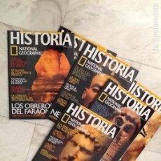 Coleccionismo de National Geographic: RESTOS COLECCION HISTORIA NATIONAL GEOGRAPHY, NUMEROS SUELTOS. Lote 135565590