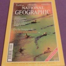 Coleccionismo de National Geographic: NATIONAL GEOGRAPHIC VOL. 1, Nº 2 - EN LOS BOSQUES DE MINNESOTA - NOVIEMBRE 1997. Lote 137476434