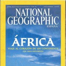 Coleccionismo de National Geographic: REVISTA NATIONAL GEOGRAPHIC SETIEMBRE DE 2005. Lote 139884818