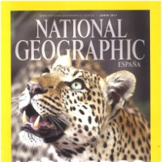 Coleccionismo de National Geographic: NATIONAL GEOGRAPHIC. JUNIO 2011. LEOPARDOS. Lote 140414510