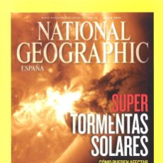 Coleccionismo de National Geographic: NATIONAL GEOGRAPHIC. JULIO 2012. SUPER TORMENTAS SOLARES. Lote 140485218