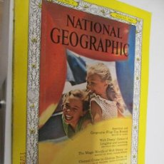 Collectionnisme de National Geographic: NATIONAL GEOGRAPHIC MAGAZINE VOL 124 Nº 2 -AUGUST, 1963 - . Lote 141501470