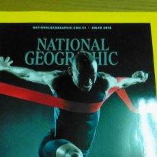 Coleccionismo de National Geographic: NATIONAL GEOGRAPHIC JULIO 2018 EL CUERPO AL LÍMITE. Lote 141614266