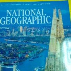 Coleccionismo de National Geographic: NATIONAL GEOGRAPHIC NOVIEMBRE 2018 EL BOOM DE LONDRES. Lote 141614286