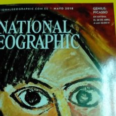 Coleccionismo de National Geographic: NATIONAL GEOGRAPHIC MAYO 2018 PICASSO. Lote 141614302