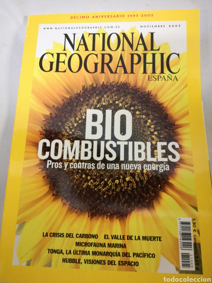 Coleccionismo de National Geographic: NATIONAL GEOGRAPHIC Decimo aniversario - Foto 1 - 142818302