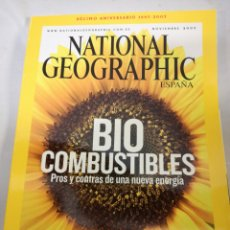 Coleccionismo de National Geographic: NATIONAL GEOGRAPHIC DECIMO ANIVERSARIO. Lote 142818302