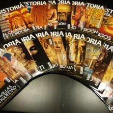 Coleccionismo de National Geographic: HISTORIA NATIONAL GEOGRAPHIC N° 1 AL 95.. Lote 156280557