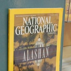 Coleccionismo de National Geographic: NATIONAL GEOGRAPHIC, VOL. 10, NUM. 1, ENERO 2002 - ALASHAN. Lote 143181874
