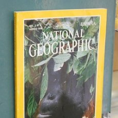 Coleccionismo de National Geographic: NATIONAL GEOGRAPHIC, VOL. 3, NUM. 2, AGOSTO 1998 - ORANGUTANES. Lote 143182062