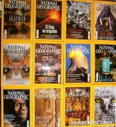 12 REVISTAS NATIONAL GEOGRAPHIC (AÑO 2002 COMPLETO) EDICIÓN ESPAÑOLA EN CASTELLANO (Coleccionismo - Revistas y Periódicos Modernos (a partir de 1.940) - Revista National Geographic)