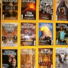 Coleccionismo de National Geographic: 12 REVISTAS NATIONAL GEOGRAPHIC (AÑO 2002 COMPLETO) EDICIÓN ESPAÑOLA EN CASTELLANO. Lote 144322974