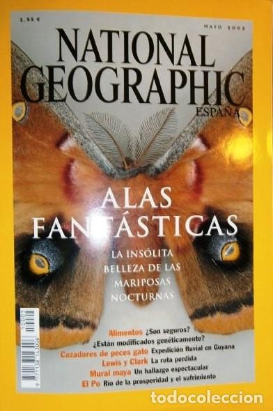 Coleccionismo de National Geographic: 12 Revistas National Geographic (Año 2002 completo) Edición española en castellano - Foto 2 - 144322974