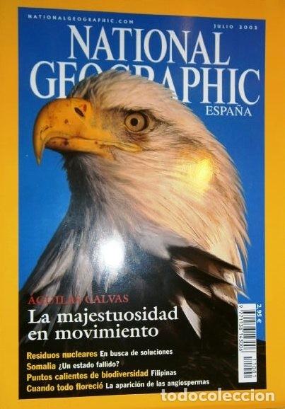 Coleccionismo de National Geographic: 12 Revistas National Geographic (Año 2002 completo) Edición española en castellano - Foto 4 - 144322974