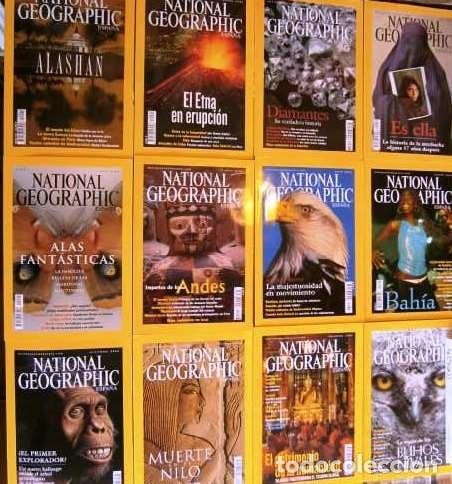 Coleccionismo de National Geographic: 12 Revistas National Geographic (Año 2002 completo) Edición española en castellano - Foto 7 - 144322974