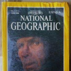Coleccionismo de National Geographic: NATIONAL GEOGRAPHIC. JUNIO DE 1998. Lote 145331214