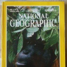 Coleccionismo de National Geographic: NATIONAL GEOGRAPHIC. AGOSTO DE 1998. Lote 145331746
