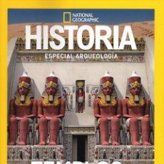 Coleccionismo de National Geographic: TEMPLOS DE EGIPTO RECONSTRUIDOS EN 3D - ESPECIAL ARQUEOLOGIA - HISTORIA NATIONAL GEOGRAPHIC. Lote 151515220