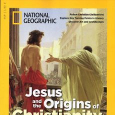 Coleccionismo de National Geographic: JESUS AND THE ORIGINS OF CHRISTIANITY - SPECIAL PUBLICATION NATIONAL GEOGRAPHIC - USA. Lote 145373382