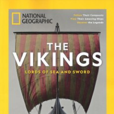 Coleccionismo de National Geographic: THE VIKINGS LORDS OF THE SEA AND SWORD - SPECIAL PUBLICATION NATIONAL GEOGRAPHIC - USA. Lote 145373838