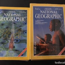 Coleccionismo de National Geographic: 27 PRIMERAS REVISTAS DE NATIONAL GEOGRAFIC EN ESPAÑA DESDE OCTUBRE DE 1997 A DICIEMBRE DE 1999 L. Lote 146266018