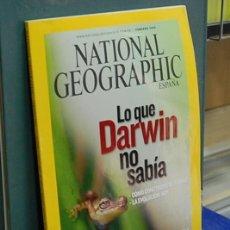 Coleccionismo de National Geographic: LMV - NATIONAL GEOGRAPHIC, LO QUE DARWIN NO SABIA. VOL. 24, NUM. 2, FEBRERO 2009. Lote 146759386