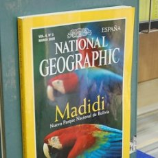 Coleccionismo de National Geographic: LMV - NATIONAL GEOGRAPHIC, MADIDI. VOL. 6, NUM. 3, MARZO 2000. Lote 146760706