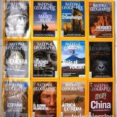 Coleccionismo de National Geographic: 12 REVISTAS NATIONAL GEOGRAPHIC (AÑO 2008 COMPLETO) EDICIÓN ESPAÑOLA EN IDIOMA CASTELLANO. Lote 146862778