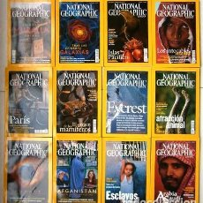 Coleccionismo de National Geographic: 12 REVISTAS NATIONAL GEOGRAPHIC (AÑO 2003 COMPLETO) EDICIÓN ESPAÑOLA EN IDIOMA CASTELLANO. Lote 146864506