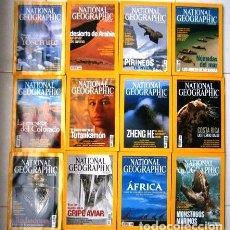 Coleccionismo de National Geographic: 12 REVISTAS NATIONAL GEOGRAPHIC (AÑO 2005 COMPLETO) EDICIÓN ESPAÑOLA EN IDIOMA CASTELLANO. Lote 147216342