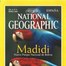 Coleccionismo de National Geographic: NATIONAL GEOGRAPHIC. MARZO 2000. MADIDI, BOLIVIA. Lote 147919830