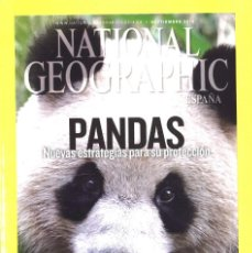Coleccionismo de National Geographic: NATIONAL GEOGRAPHIC. SEPTIEMBRE 2012. PANDAS. Lote 147920302