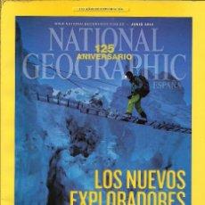 Coleccionismo de National Geographic: REEVISTA NATIONAL GEOGRAPHIC 125 ANIVERSARIO LOS NUEVOS EXPLORADOPRES. Lote 147961190