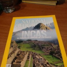 Coleccionismo de National Geographic: REVISTA NATIONAL GEOGRAPHIC ABRIL 2011 INCAS. Lote 148533438