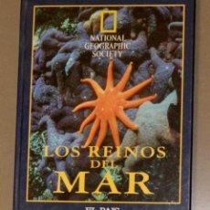 Coleccionismo de National Geographic: LOS REINOS DEL MAR NATIONAL GEOGRAPHIC COMPLETO Y ENCUADERNADO. Lote 149446878