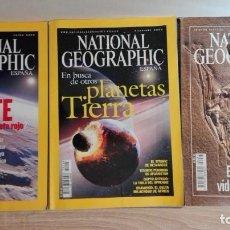 Coleccionismo de National Geographic: LOTE 3 NATIONAL GEOGRAPHIC CASTELLANO-ENE-2004-DIC.2004-ED.ESPECIAL ORIGEN VIDA-TB SE VENDEN SEPARAD. Lote 151311198