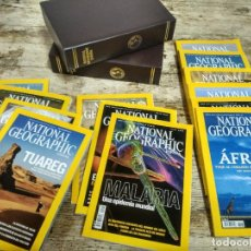 Coleccionismo de National Geographic: 13 REVISTAS NATIONAL GEOGRAPHIC Y DOS ARCHIVADORES . Lote 152325346