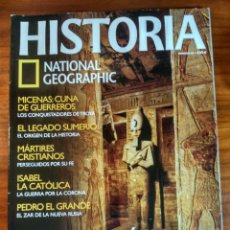 Coleccionismo de National Geographic: HISTORIA NATIONAL GEOGRAPHIC Nº 43. Lote 152485142