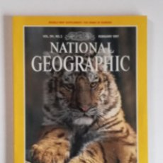 Coleccionismo de National Geographic: NATIONAL GEOGRAPHIC DECEMBER 1997: WILD TIGERS. Lote 153664570