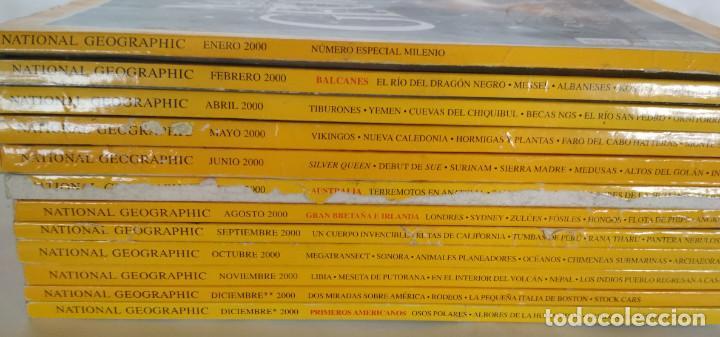 Coleccionismo de National Geographic: LOTE DE 12 REVISTAS DE NATIONAL GEOGRAPHIC DEL AÑO 2000 - Foto 2 - 154676182