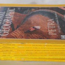 Coleccionismo de National Geographic: LOTE DE 7 REVISTAS DE NATIONAL GEOGRAPHIC DEL AÑO 1998. Lote 154682110